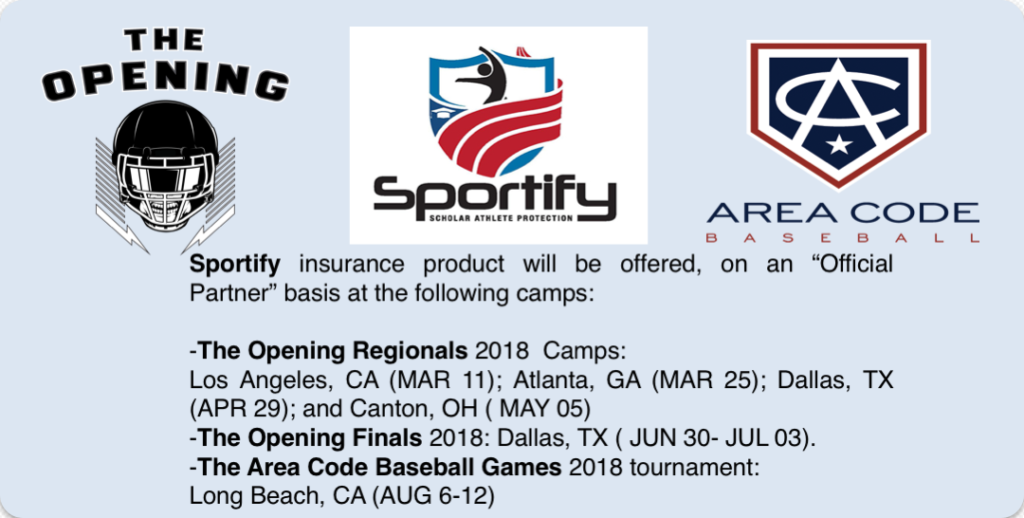Sportify_Home Page Announcement_1